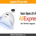Comprar lámpara LED para uñas en AliExpress