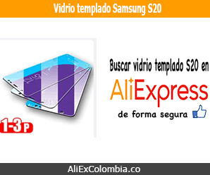 Comprar vidrio templado para Samsung S20 en AliExpress