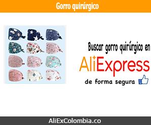 Comprar un gorro quirúrgico en AliExpress