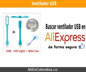 Comprar ventilador USB en AliExpress