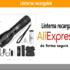 Comprar linterna recargable en AliExpress